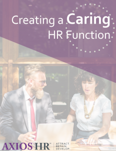 Creating a caring HR function white paper cover